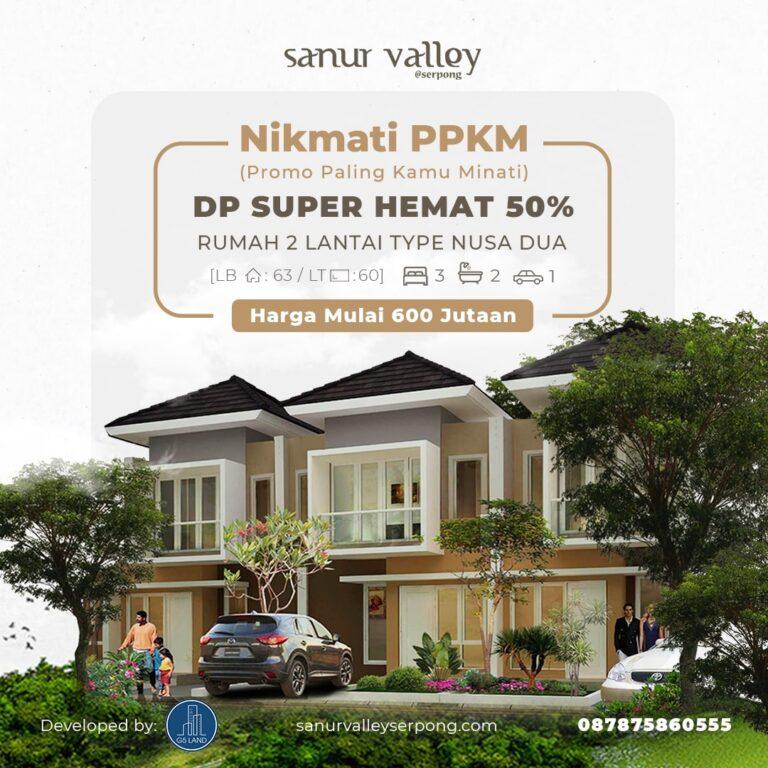 PPKM – Promo Paling Kamu Minati! Rumah 2 Lantai