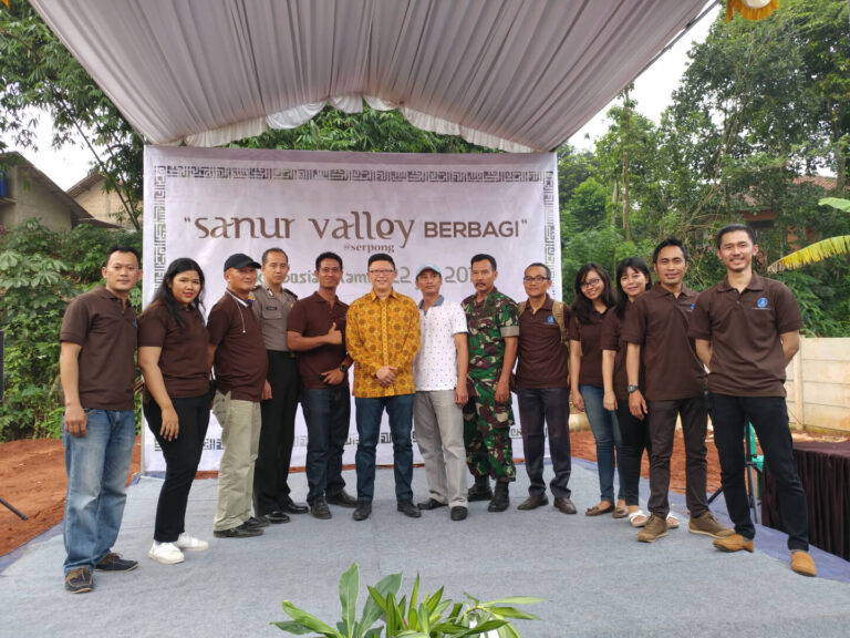 Corporate Social Responsibility Sanur Valley Serpong 2